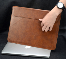 New PU Leather laptop Notebook bag For Apple Air Pro Retina 11 13 inch Computer Sleeve