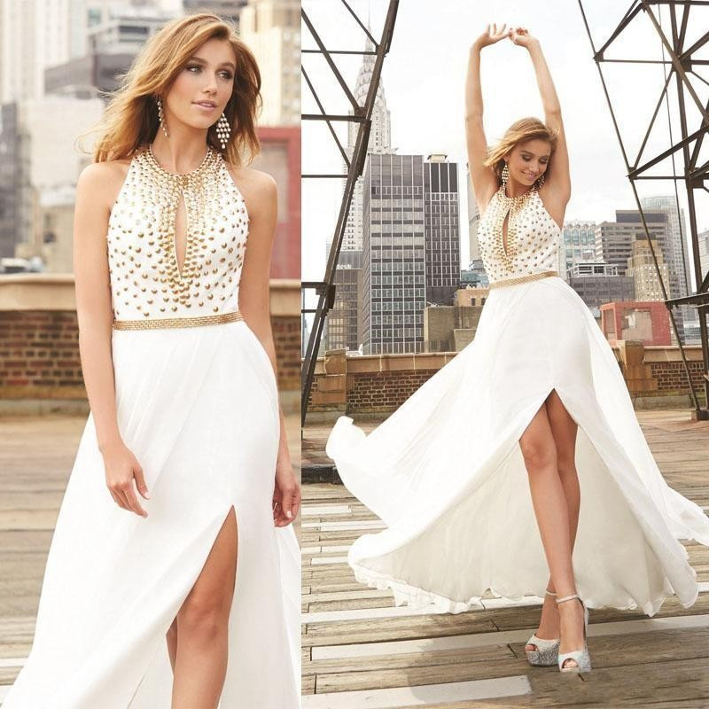 Popular Long White Flowing Dress-Buy Cheap Long White Flowing ...