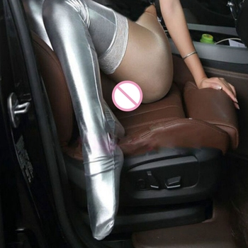 Lace Latex Stockings  2