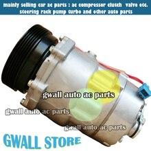 New SD7V16 Auto AC Compressor For Car VW Bora / Golf 1H0820803D