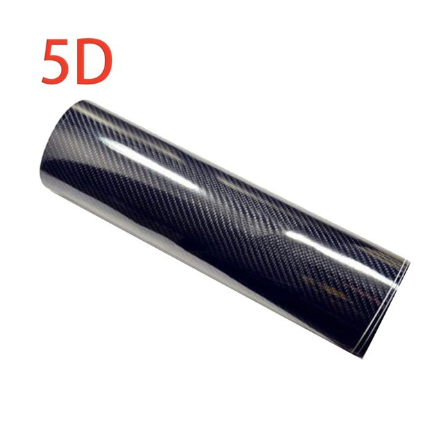 CNSPEED 50*152CM High Gloss Carbon Fiber Vinyl Car Wrap Sheet Car Stickers