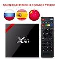 Newest X96 X96W Smart TV Box Android 7.1 Bluetooth 4.0 Amlogic S905W 1G/8G 2G/16G 2.4GHz WiFi HD Quad Core 4K Mini Box