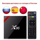 Newest X96 X96W Smart TV Box Android 7.1 Bluetooth 4.0 Amlogic S905W 1G/8G 2G/16G Smart TV Box 2.4G WiFi Set Top Box PK X96 Mini