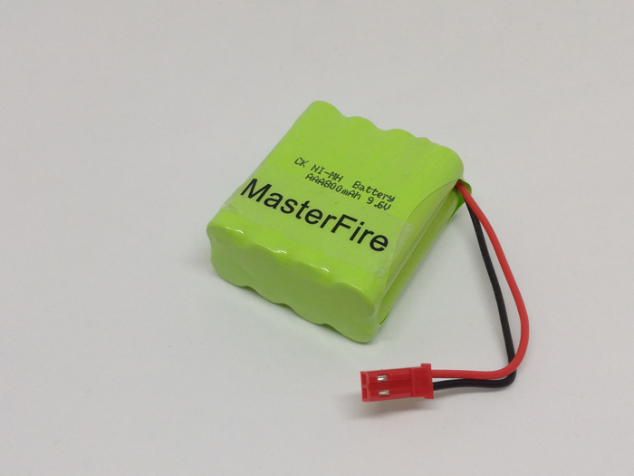 MasterFire 5PACK/LOT Brand New 9.6v AAA 800mAh NI-MH Battery Rechargeable NiMH Batteries Pack