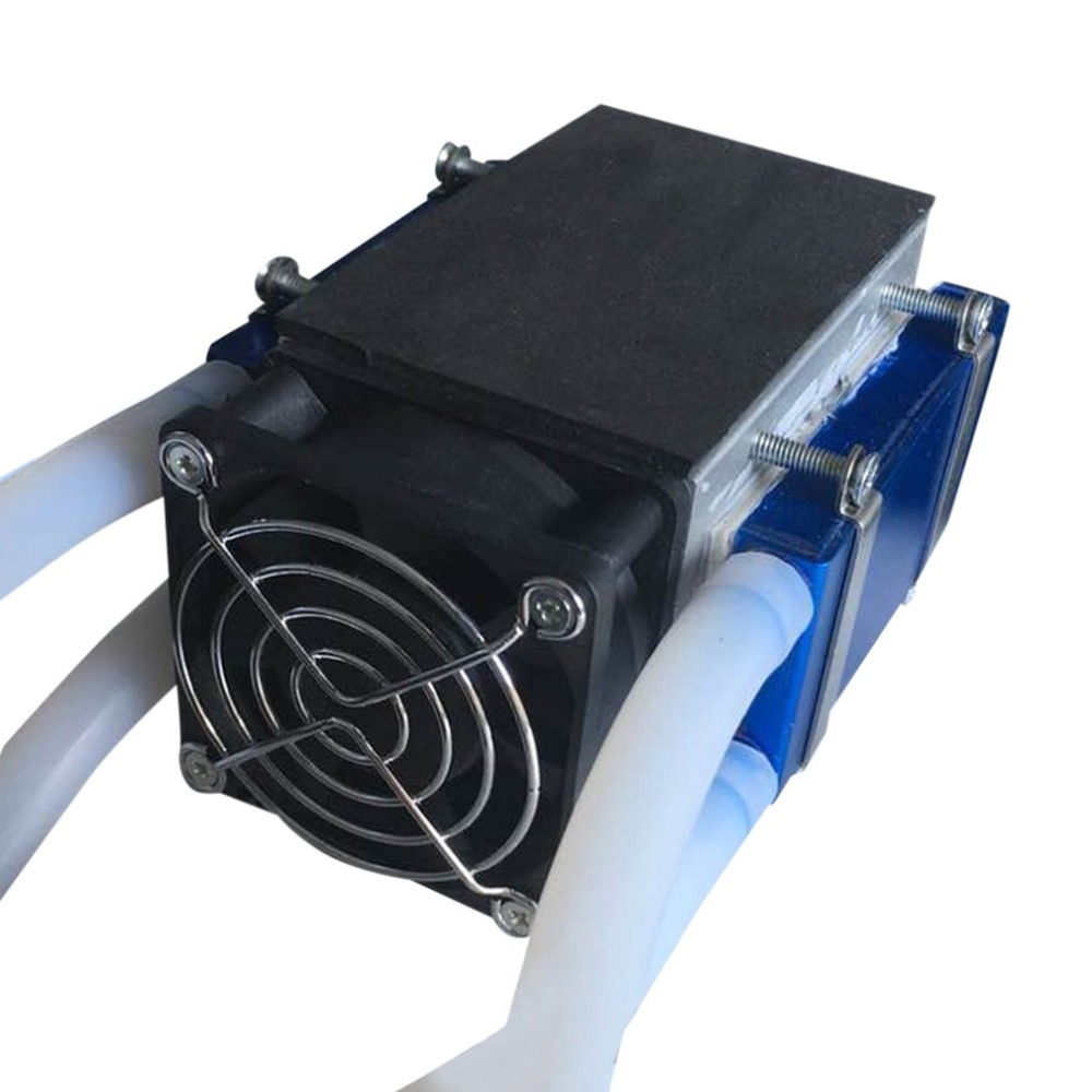 Peltier Thermoelectric Refrigerators 12V 576W 8-Chip TEC1-12706 DIY Refrigeration Air Cooling Device Thermoelectric CoolerPeltier Thermoelectric Refrigerators 12V 576W 8-Chip TEC1-12706 DIY Refrigeration Air Cooling Device Thermoelectric Cooler