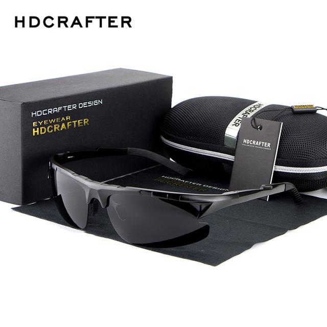 Óculos de sol polaroid homens polarizados condução óculos de sol dos homens óculos de sol designer de moda marca óculos masculino óculos de sol