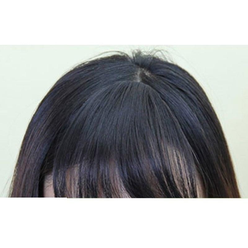 Aomu Thin Mini Clip In Hair Fringe Extensions Girl Women Hair Clip