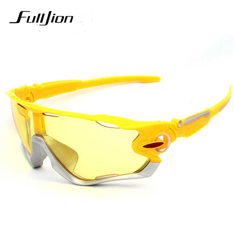 Fulljion Polarized Glasses Fishing Eyewear Sunglasses Driving Cycling Glasses Sports Outdoor UV400 Pesca
