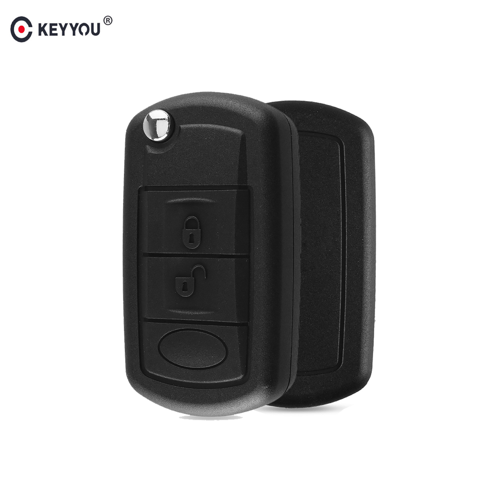 KEYYOU 10x For Land Rover Range Rover Sport LR3 Discovery 3 Remote Fob Case Cover 3