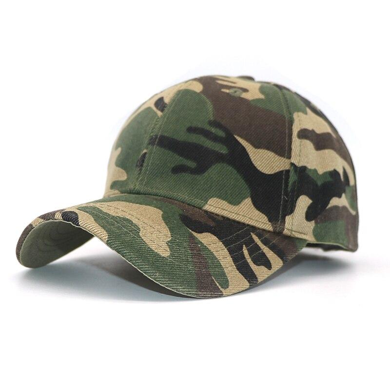 1 Pcs Camouflage Baseball Cap Unisex Einstellbar Lässig Trucker Caps Männer Hysterese Hip Hop Hut Frauen Mädchen Casquette Baseball Homme Einfach Und Leicht Zu Handhaben