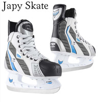 Japy Skate Ice Hockey Shoes Adult Child Ice Skates Professional Flower Knife Ice Hockey Knife Shoes Real Ice Skates
