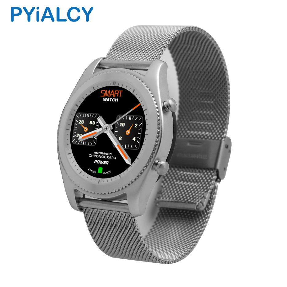 PYiALCY No.1 S9 SmartWatch MTK2502C Heart Rate Monitor Bluetooth 4.0 Smart watch Wearable Devices For Android iOS phone hot sale meafo f2 smart watch original bluetooth wrist smartwatch camera 1 22 heart rate for android ios smartwatch pk no 1 s