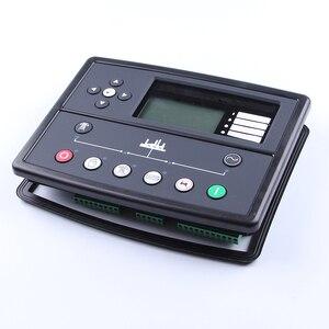Image 4 - Controlador de generador led, piezas de genset, placa de control de alternador, panel de pantalla lcd, mando a distancia de arranque automático