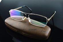 2019 Real nuevo diseñador de cristal de titanio de alta calidad de Aviador Ministro Oculos gafas de lectura + 1 + 1,50 + 2,0 + 3,0 + 3,5 + 4