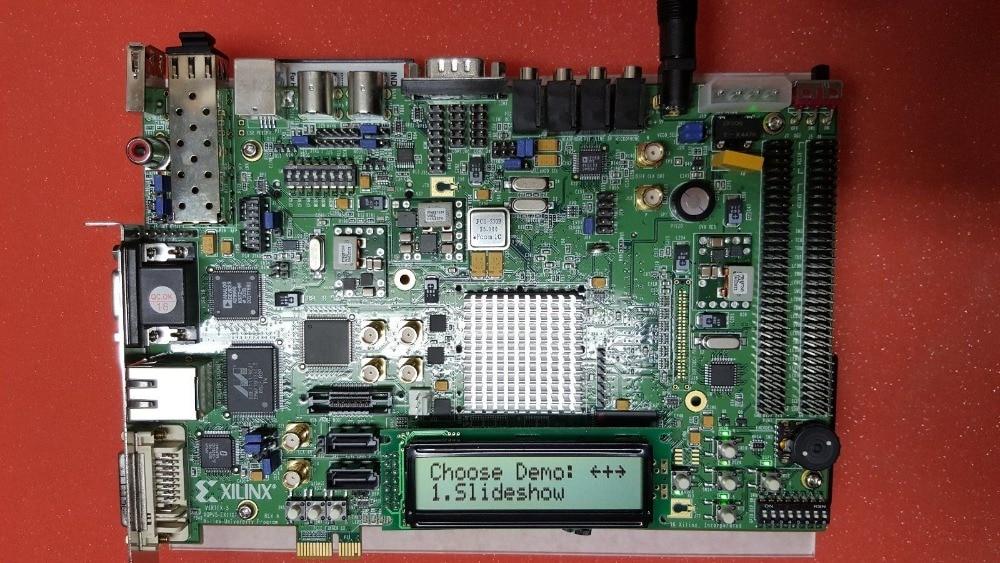 XILINX FPGA Development Board XUPV5-LX110T Embedded Video Gigabit Ethernet