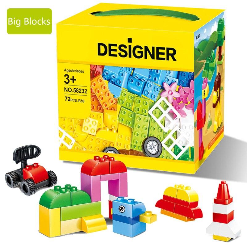 Wange 58232 Classic DIY 72 Pcs Classic Creative Building Blocks Bricks Game Educational Toys for children Decool Lepin мясорубка polaris pmg 1810a crystal 1800вт 1 9 кг мин серебристый