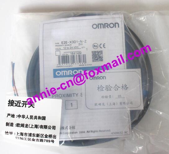 100% New and original  E2E2-X3D1-N, E2E2-X3D1-N-Z   2M   OMRON  Proximity switch, Proximity sensor for renault vel satis bj0