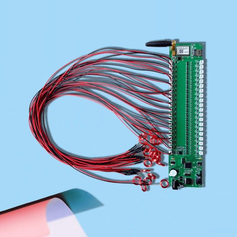 RFID Multi Coil Reader 125KHz RF Module GPRS Networking 20 Switch цены онлайн