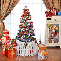 150cm Christmas Decoration Tree Artificial Simulation Christmas Trees Green Style Trees Party Supplies 03