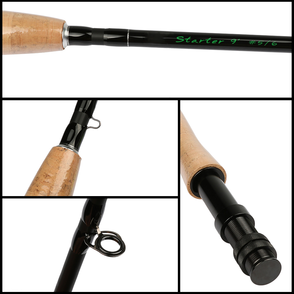 Fly fishing rod and reel combo for Trout fishing rod and reel