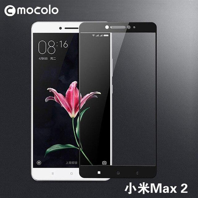9b203b9e3d3 100% Original Mocolo Silk Printing Full Cover Tempered Glass Protector for Xiaomi  mi max 2 Glass Film for xiaomi max2