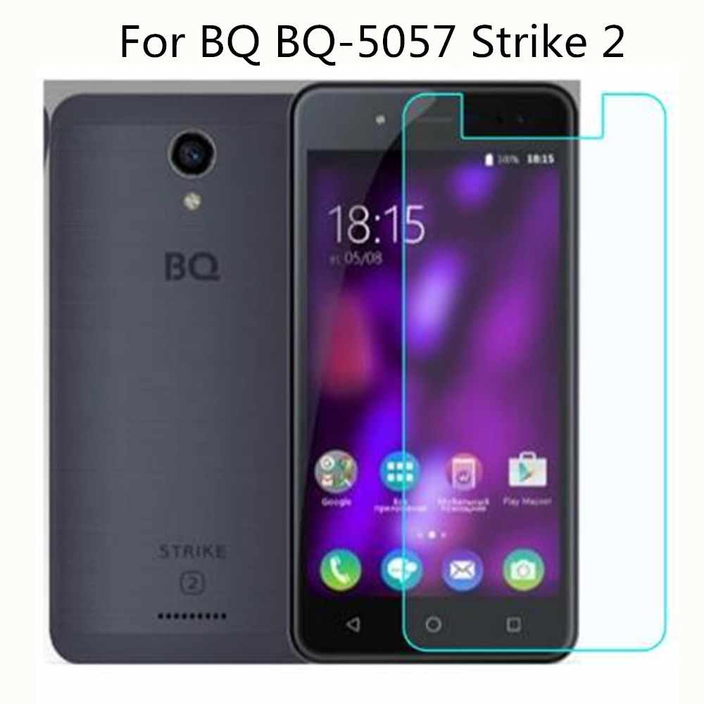 "Tempered Glass For BQ BQ-5057 Strike 2 5057 5.0"" smartphone cases Screen Protector Film Protective Screen On BQ BQ-5057 Strike 2"