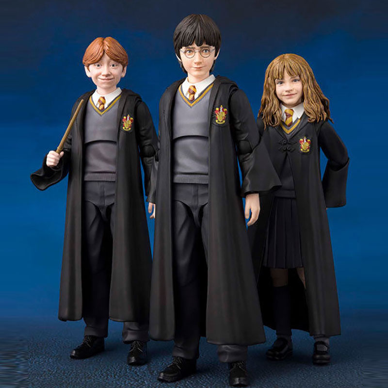Shf Ron Figure Hermione Snape Doll Ginny Weasley Granger Harry Severus Action Figures Model Toys