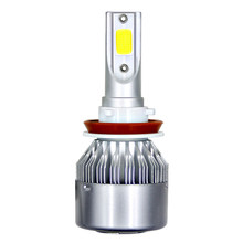 1Pc H11 H4 LED H7 LED Bulb Car Headllight H1 H3 H13 880 9005 9006 9004 9007 72W 8000LM 6000K Fog Light Auto Headlamp Lamps(China)
