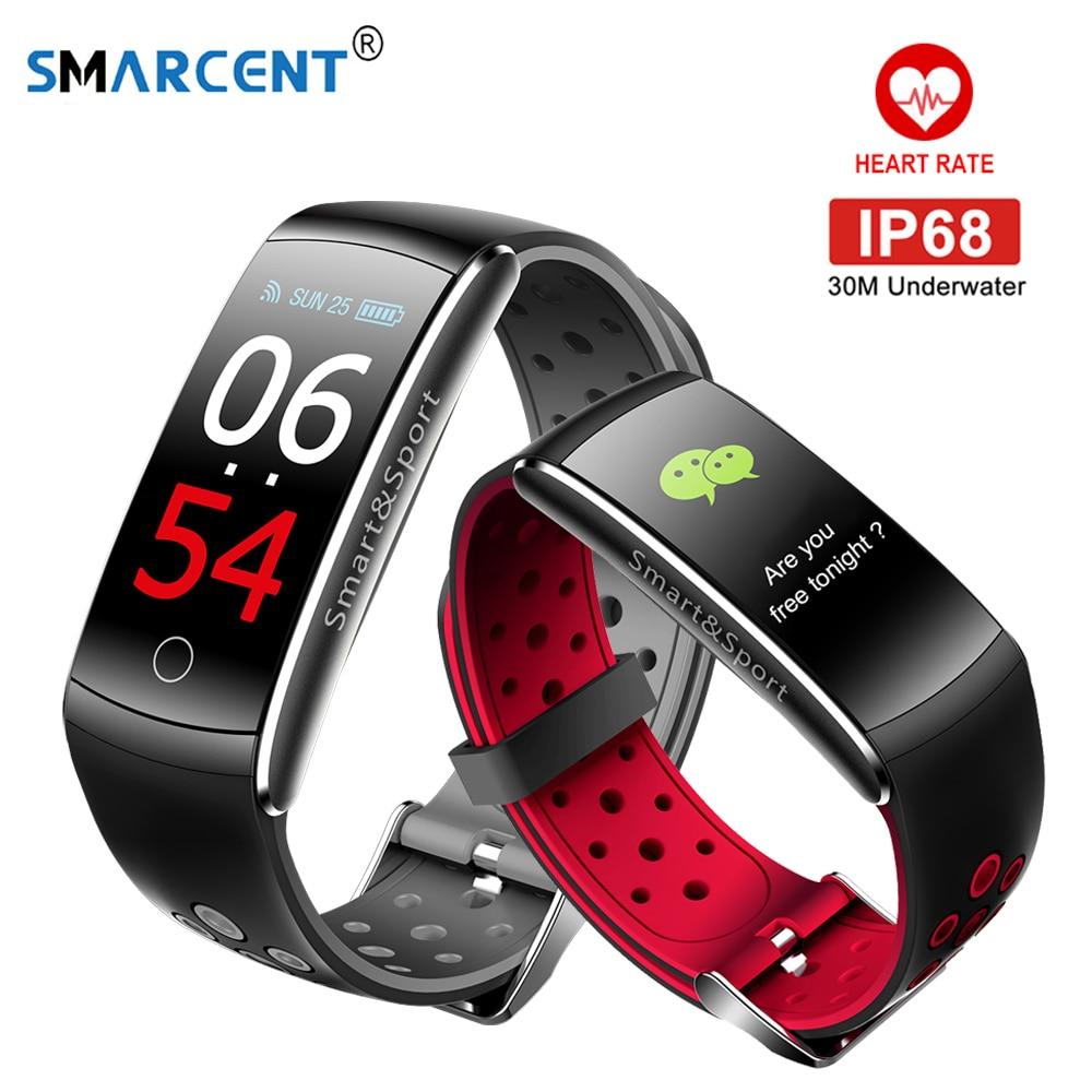 купить Q8S Smart band Fitness bracelet Passometer Smart wristband Fitness bracelet with heart rate monitor mi Activity tracker band 2 по цене 1007.72 рублей