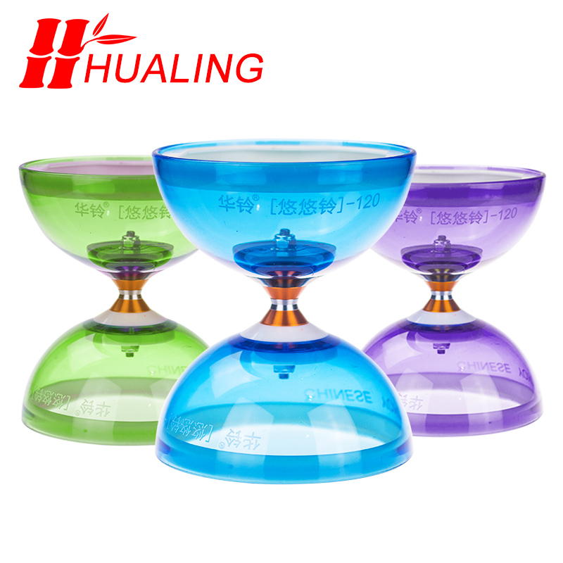 Image 5 - chineseyoyo Bearing diabolo juggling Toys Professional Diabolo Set Packing  6 Color for choose with String Bag-in Yoyos from Toys & Hobbies