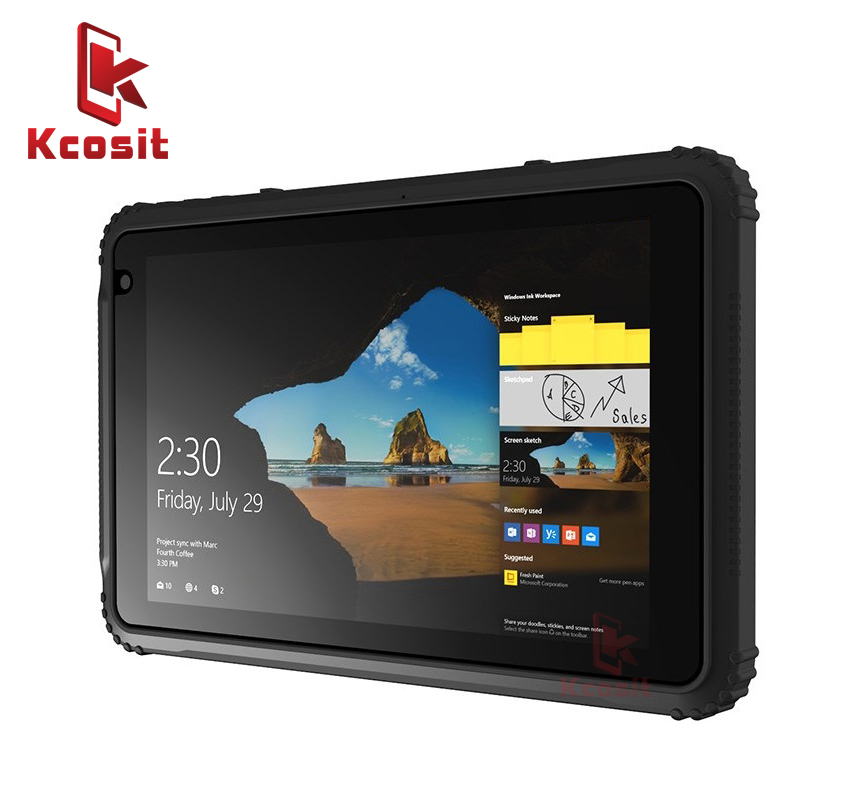 Industrial Computer Tablet PC Waterproof Rugged 4GB RAM 64GB ROM Ultra Slim 8 Inch Intel Z8350 OTG 4G LTE  4G Lte Single SIM GPS