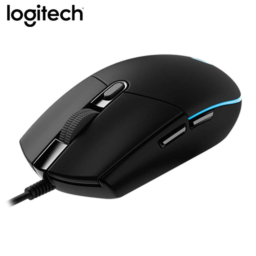 Asli Logitech G102 Gaming Kabel Mouse Optik 200-8000 DPI Pemrograman Dukungan Mouse Desktop/Laptop Dukungan Windows 10 /8/7