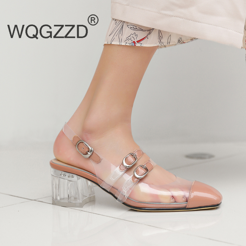 New summer gladiator sandals women s shoes fashion Transparent shoes women sandals chaussures femme
