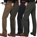 YG6130-4 Barato al por mayor 2016 nueva Grueso con los hombres de mediana edad pantalones casuales de alta cintura suelta altura de edad de sexo masculino pantalones rectos