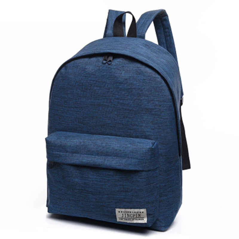 ... 2017 Brand Canvas Men Women Backpack College Students High Middle School  Bags For Teenager Boy Girls ... 9e6f41ac3f08f