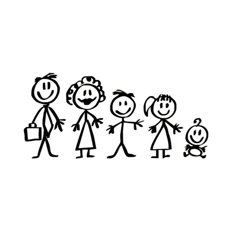 Popular Family Decal Stickers For CarBuy Cheap Family Decal - Family decal stickers for cars