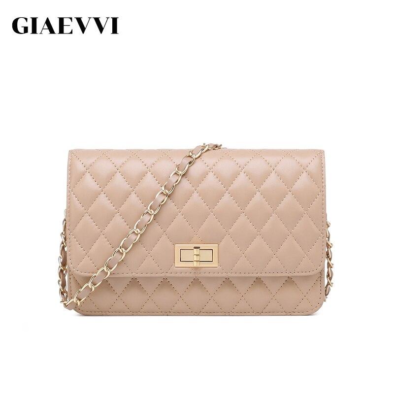 GIAEVVI женские сумки через плечо натуральная кожа известные бренды Сумка Роскошные женщин сумки crossbody сумки дизайнерские сумки