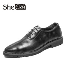 2019 Men Dress Shoes Microfiber Leather Luxury Breathable Fashion Wedding Shoes Men Oxford Business Shoes Plus Size38-44 For Men(China)
