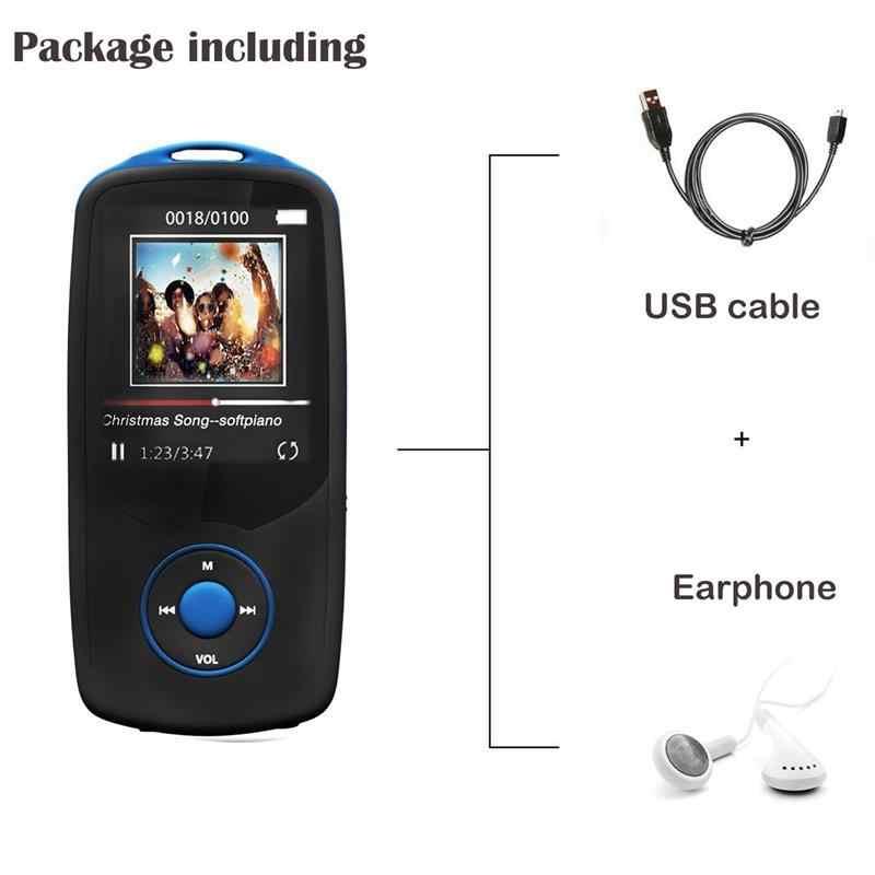 2018 новая версия Bluetooth4.0 MP3 плеер оригинальный RUIZU X06 Высокое Качество lossless с голосовым Регистраторы, fm-радио, mp3 музыкальный плеер