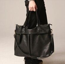ETN BAG heißer verkauf marke hochwertige herren pu-leder handtasche männlichen großen trage einzelnen schulter tasche mann big leder umhängetasche tasche