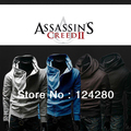 NEW Assassins Creed 3 Desmond Miles Hoodie Jacket Top Coat Cosplay Costume