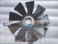 Yuchai engine YC4E140 33 for Howo, the cooling fan, part number: E37E6 1308150B