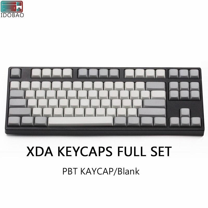Светильник, белый, серый, PBT, пустые XDA, колпачки ANSI ISO Cherry Mx для механической клавиатуры Xd64 Xd60 Xd68 Xd84 Xd96 планка 87 104 Tkl