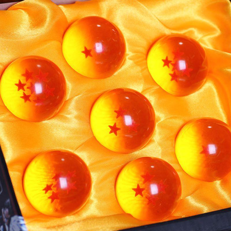 Dragon Ball Z 1set 3.5cm DragonBall Stars Crystal Ball Set of 7pcs Complete Set