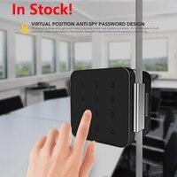 Шерлок G1 пароль Стекло замок двери офиса Keyless цифровой электрический замок Bluetooth APP пульт дистанционного управления телефоном Управление