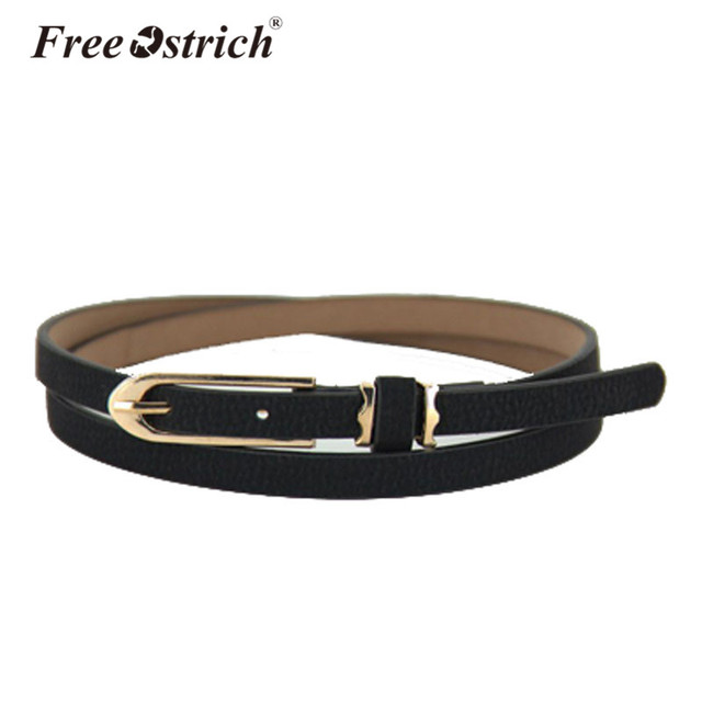 Free Ostrich Belts Women Girl Casual Buckle Canvas Waist Strap Ceinture Homme Automatic High Quality Dropshipping B0120