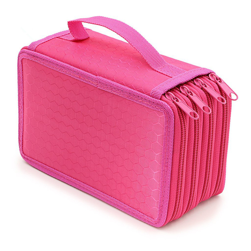 4th floor pencil case Colorful trousse scolaire stylo High capacity school supplies estuche escolar etui kalem kutusu pencilcase kawaii pink large capacity canvas cute pencil case school minecraft etui trousse scolaire stylo pencilcase estuche escolar 04893