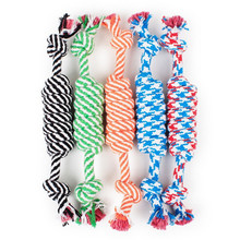 Fashion Style Dog Toys Cotton Rope Rat Node Type Hard and Solid Chewing Molar Toy Fun Relaxing for Pet Supplies
