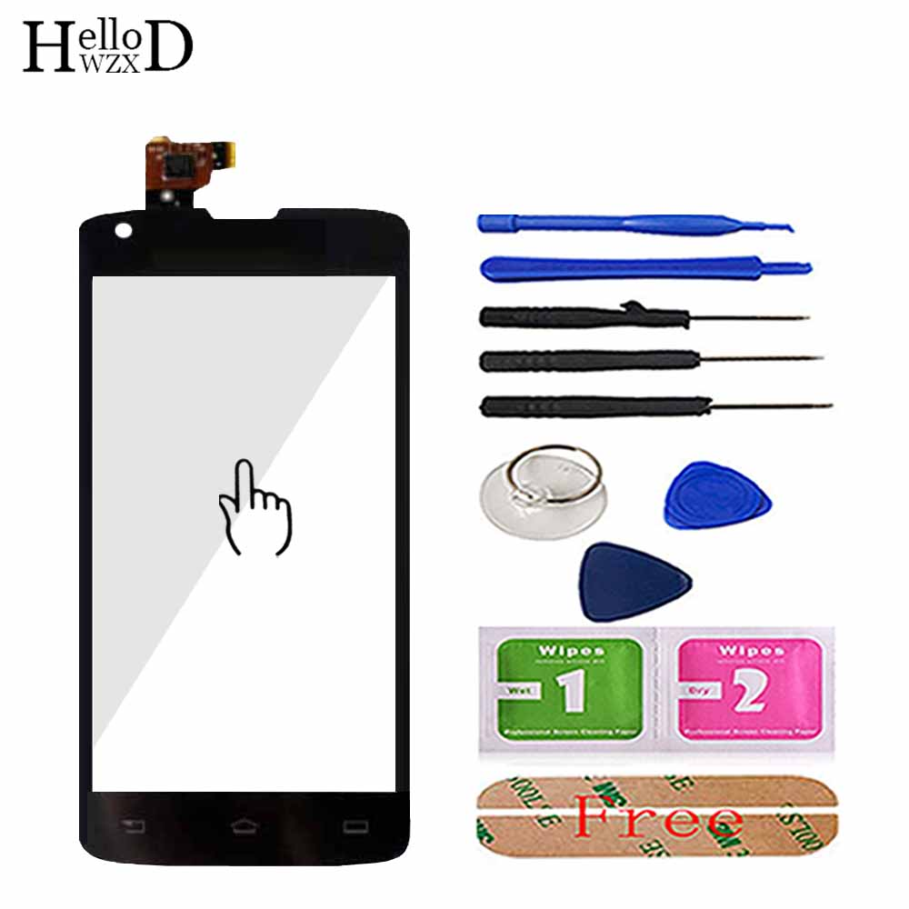 4.7inch Mobile Phone TouchScreen Touch Glass For Philips Xenium W8510 Touch Screen Digitizer Panel Sensor Tools 3M Glue