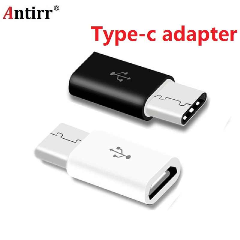 Type C Adapter For Xiaomi Mi A1 5X Mi5X Mia1 Oneplus 3t 5 3 LG g5 Samsung S8 Plus Micro USB to USB C Adapter Type-c free shiping
